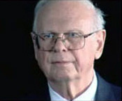 Photo of Paul Hellyer, former Canadian Defense Minister